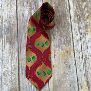 J. Garcia Christmas ornaments Silk Tie